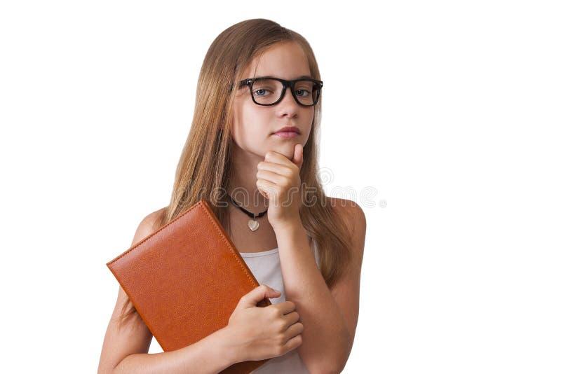 女孩表示 免版税库存图片