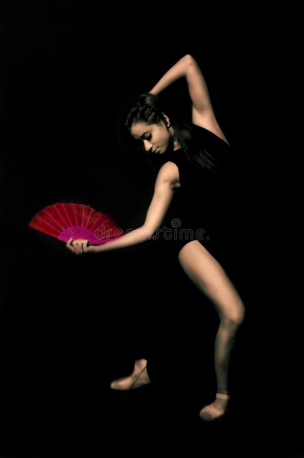 女孩,芭蕾舞女演员, 免版税库存图片