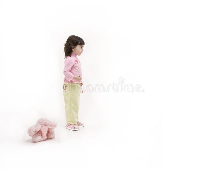 女孩 图库摄影