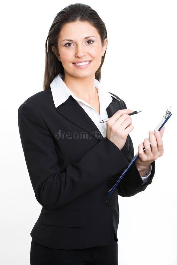 女实业家专业人员 免版税库存照片