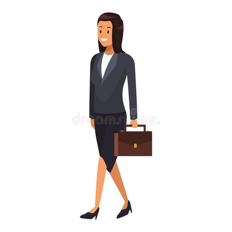女实业家典雅的成套装备 皇族释放例证