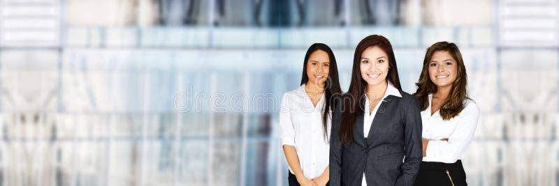 女实业家在工作 免版税图库摄影