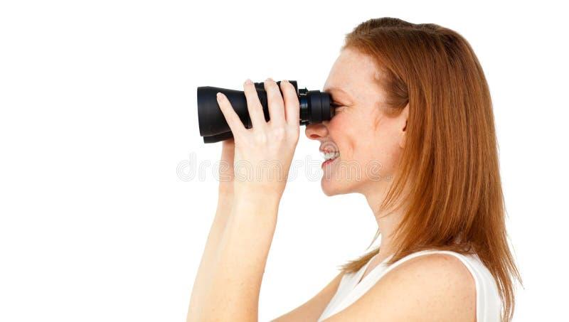 女实业家将来的预测的成功 库存图片