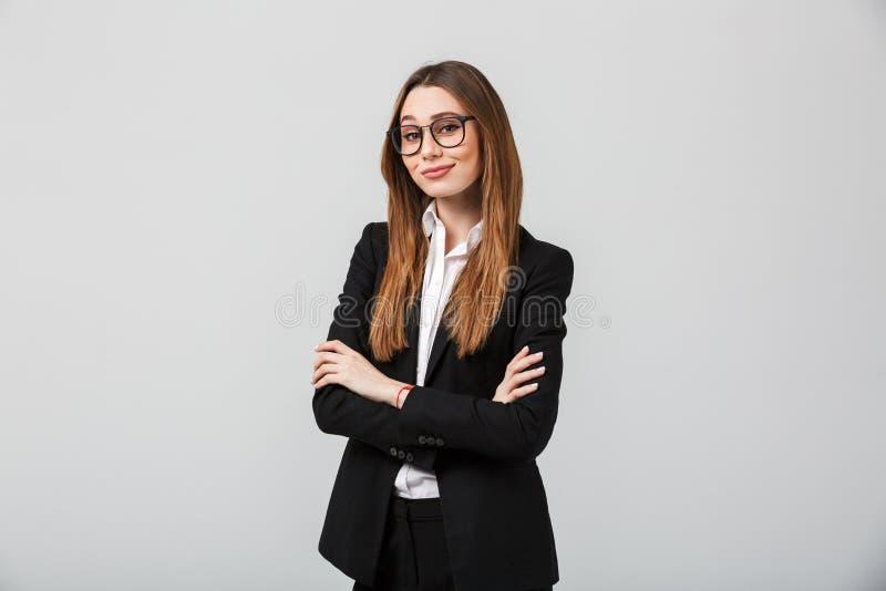 女实业家确信的纵向 免版税库存图片