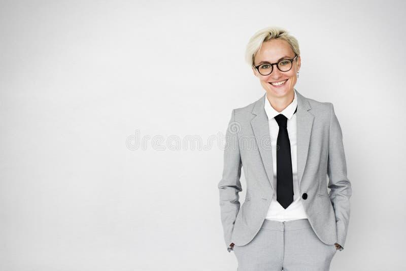 女实业家行政专业企业家概念 库存照片
