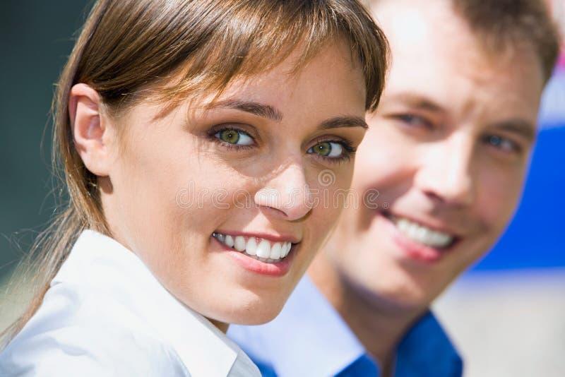 女实业家表面 免版税库存图片