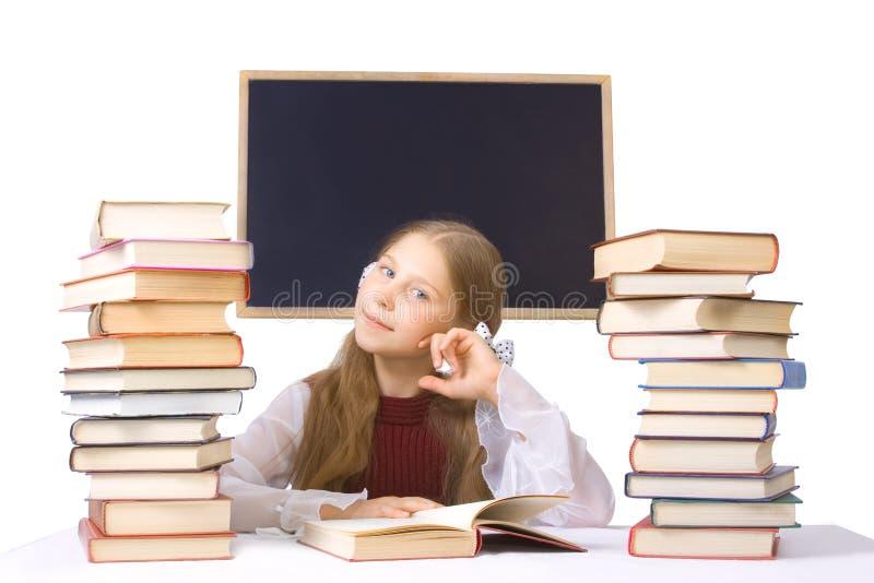 女小学生 免版税库存照片