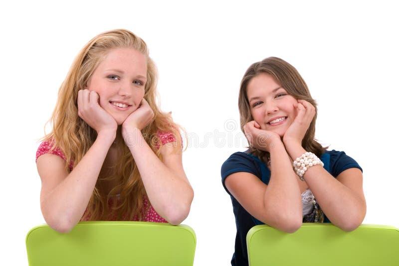 女小学生 库存图片