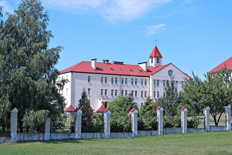 女性修道院在巴拉诺维奇,白俄罗斯 免版税库存图片