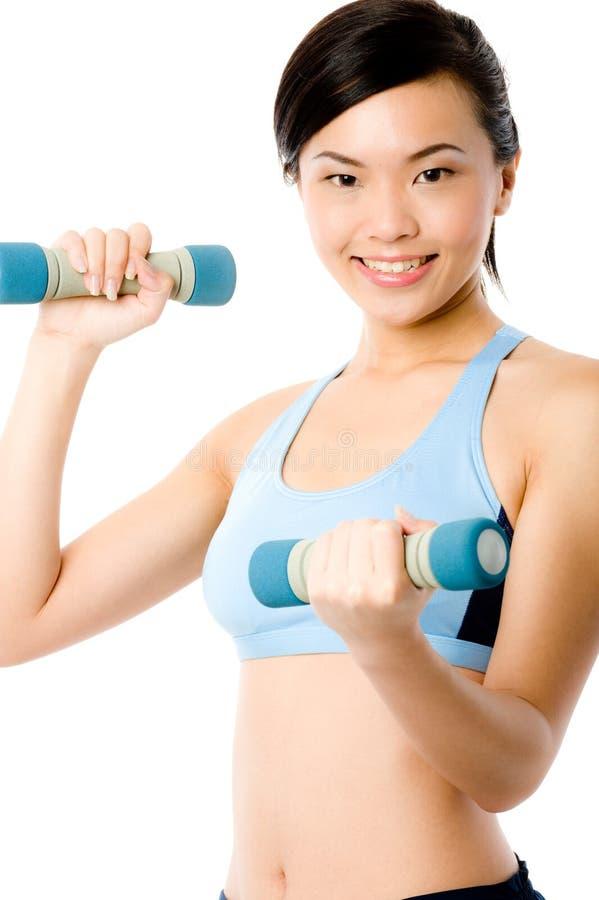 女性健身 库存照片