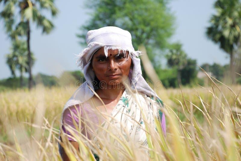 女性农夫 免版税库存照片