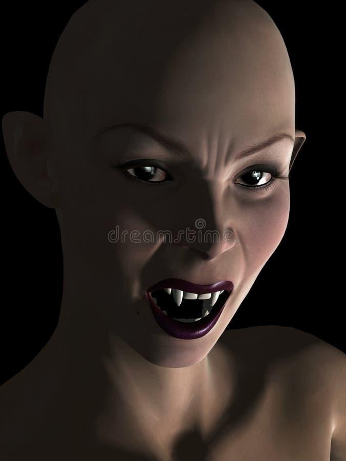 女性吸血鬼 皇族释放例证