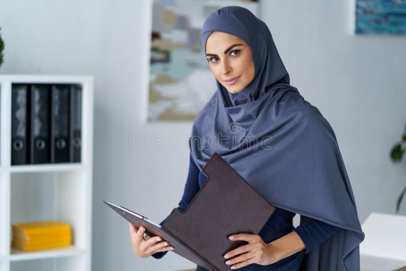 女性回教企业家 免版税库存图片