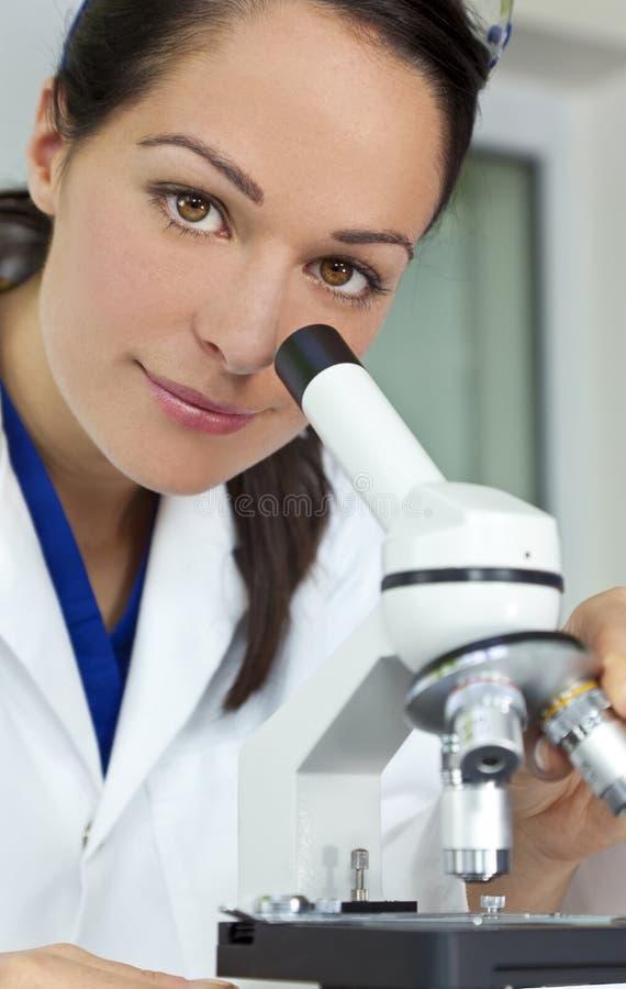 Download 女性实验室显微镜科学家使用 库存图片. 图片 包括有 显微镜, 空白, 研究员, 学员, 解剖学, 安全性 - 15678725