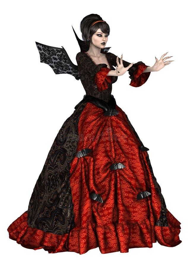 女性巫术师 库存例证