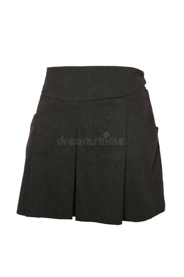 女性微型裙子 免版税库存图片