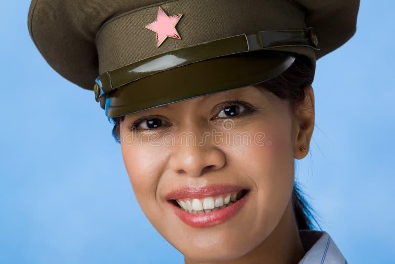 女性战士 库存图片