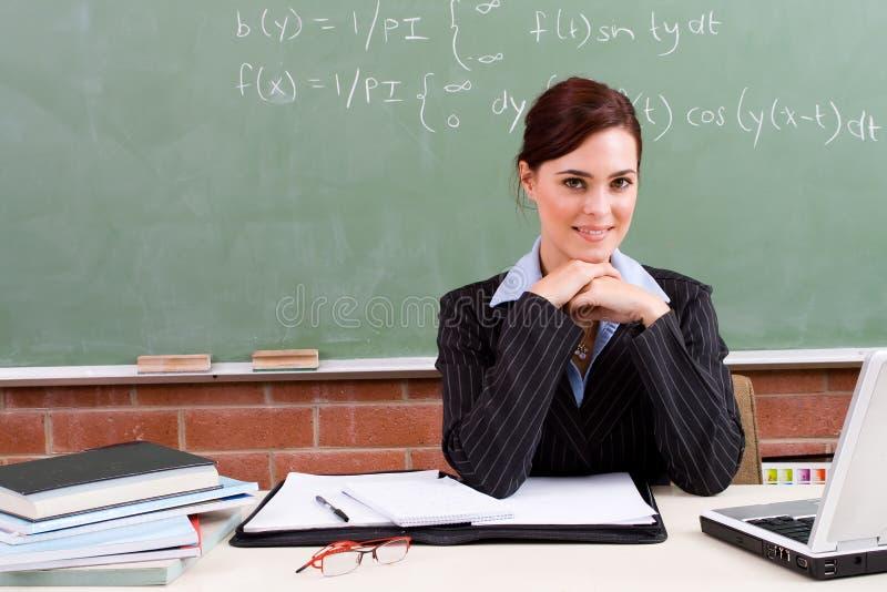 女性教师 库存照片