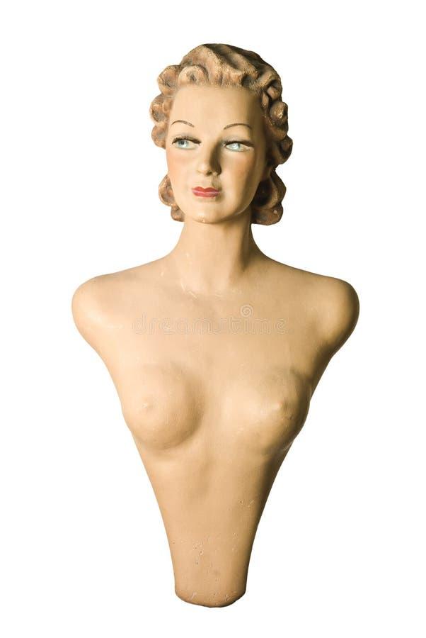 女性时装模特 免版税库存照片