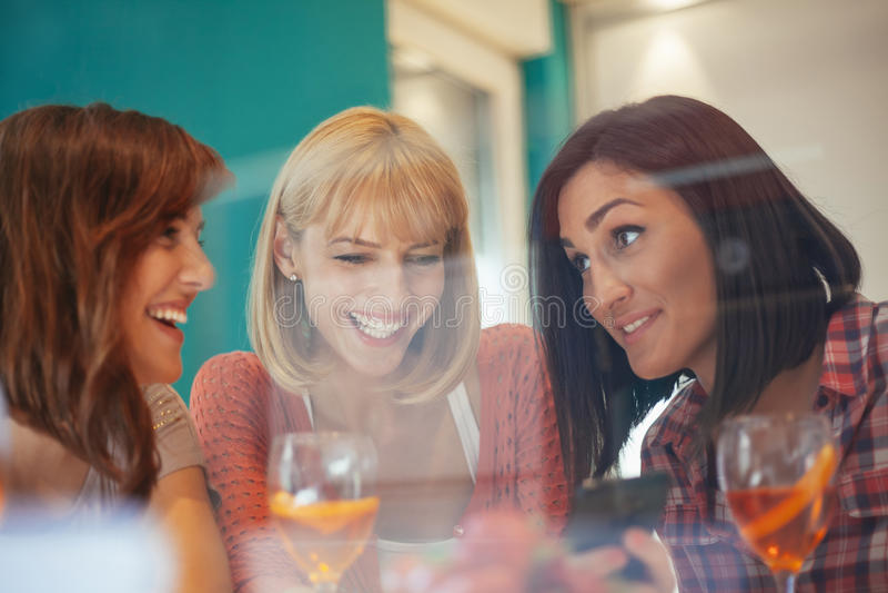 女性朋友 免版税库存照片