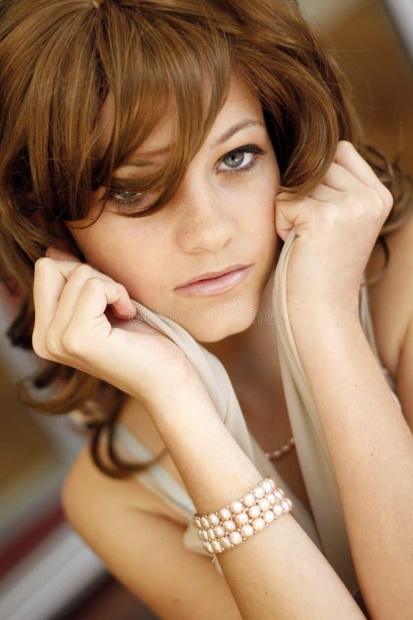 女性模型年轻人 免版税库存照片