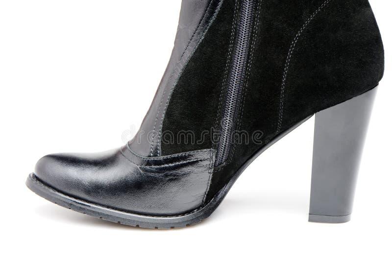 女性片段皮鞋 图库摄影