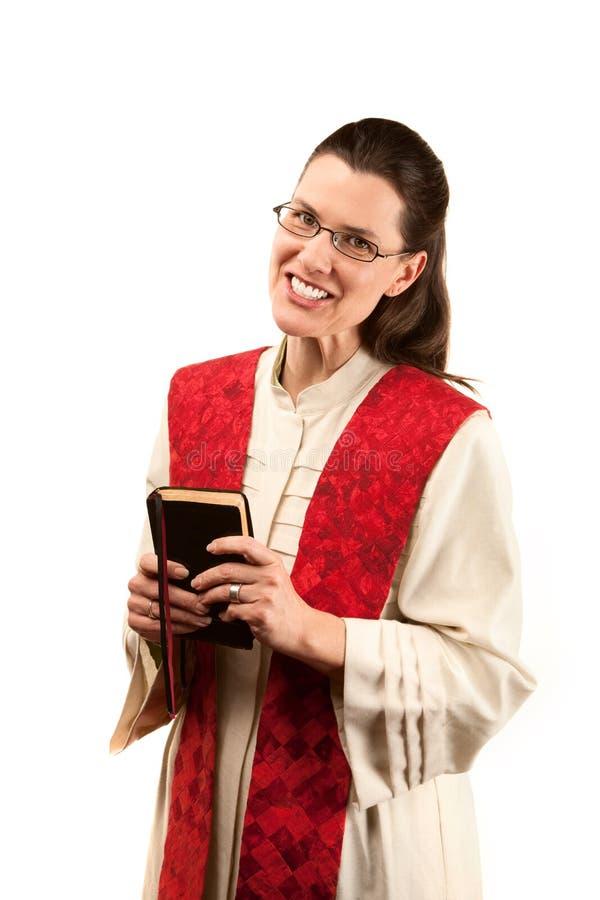 女性牧师 库存图片