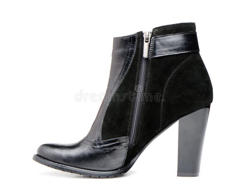女性皮靴 库存图片