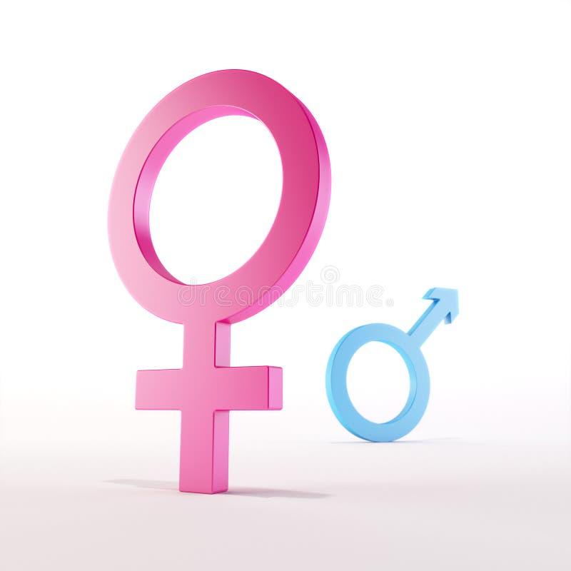 女性符号 皇族释放例证