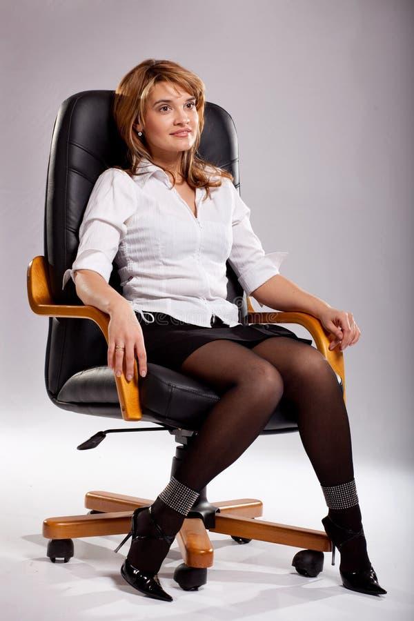 女性经理 免版税图库摄影