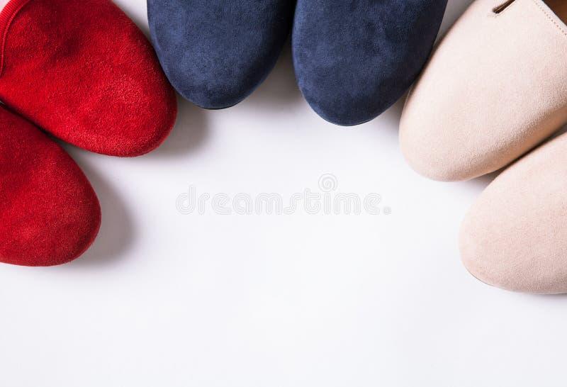 女性芭蕾舞鞋 图库摄影