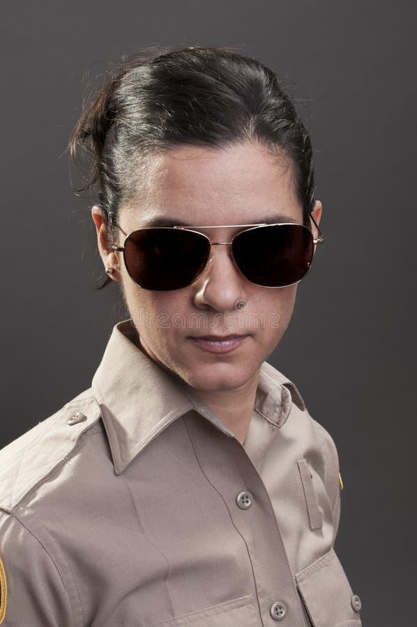 女性警长 图库摄影