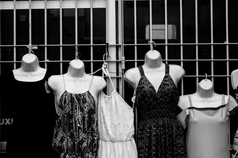 女性身体和他们的暴露对暴力 库存图片