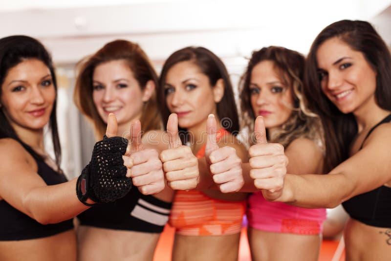 女性运动员 免版税库存图片