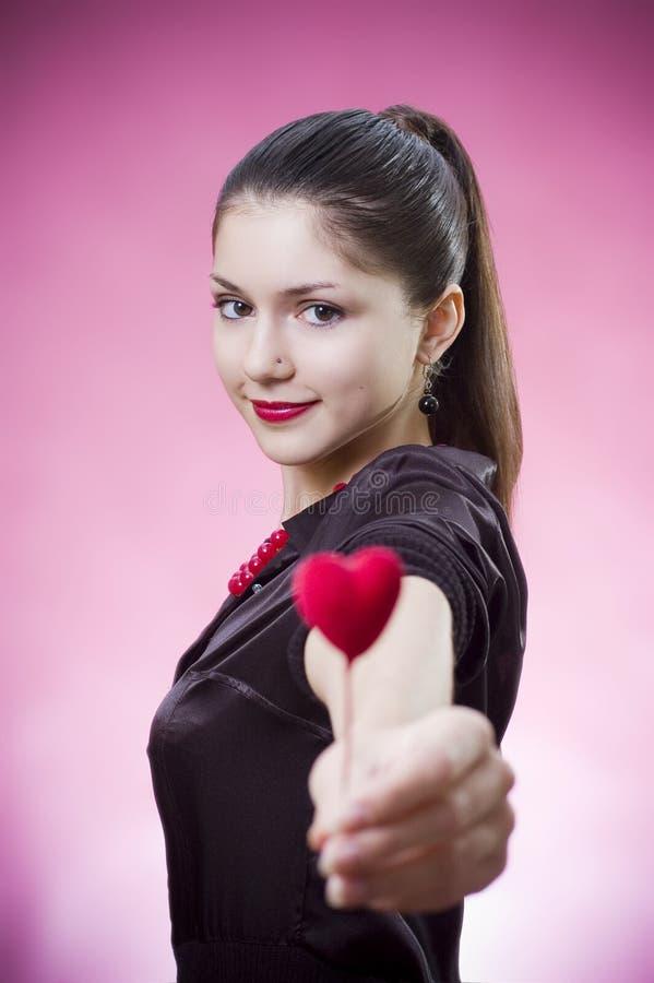 女性重点藏品年轻人 免版税图库摄影