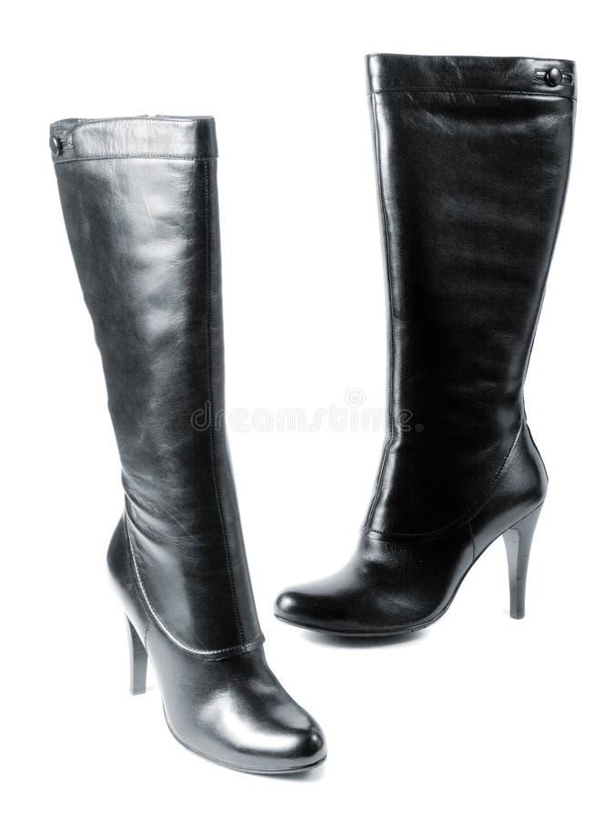 女性鞋类现代新 库存图片