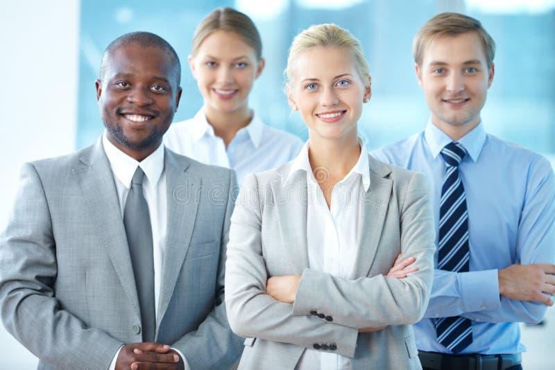 女性领导 免版税库存图片