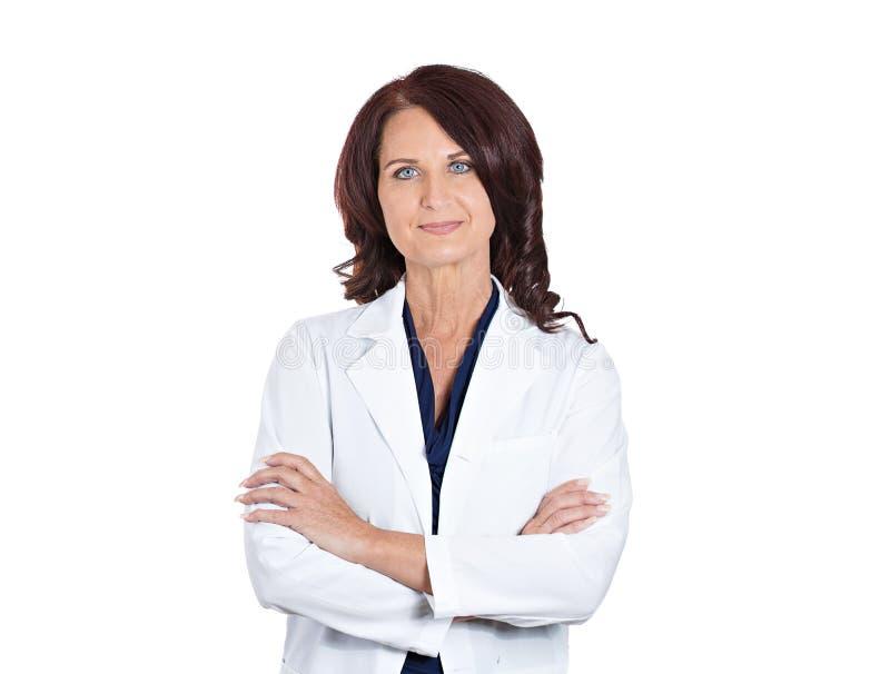 女性医生药剂师科学家研究员 库存图片