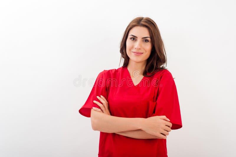 女性医生/护士 免版税库存照片