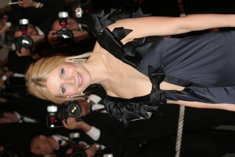 女演员gwyneth paltrow 库存照片