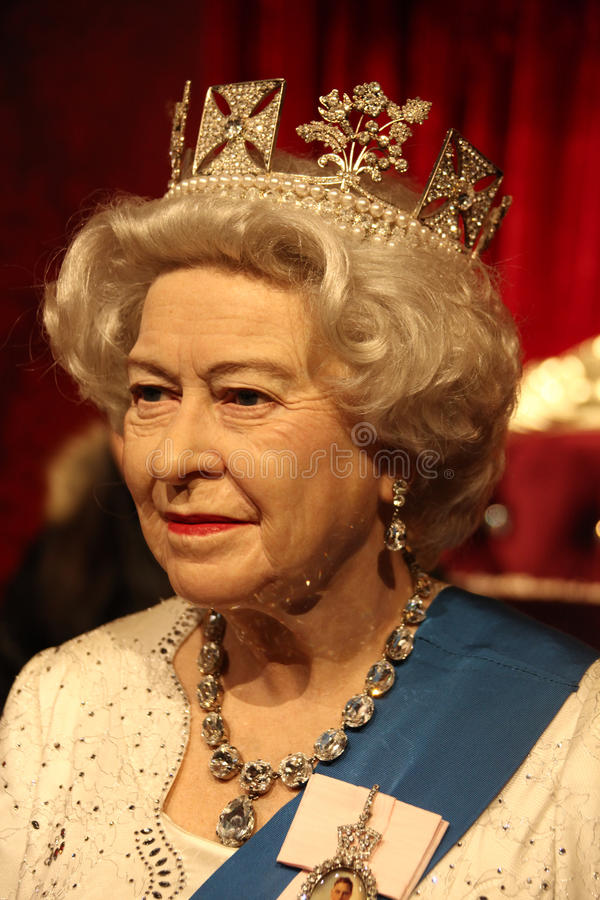 女王伊丽莎白 库存照片