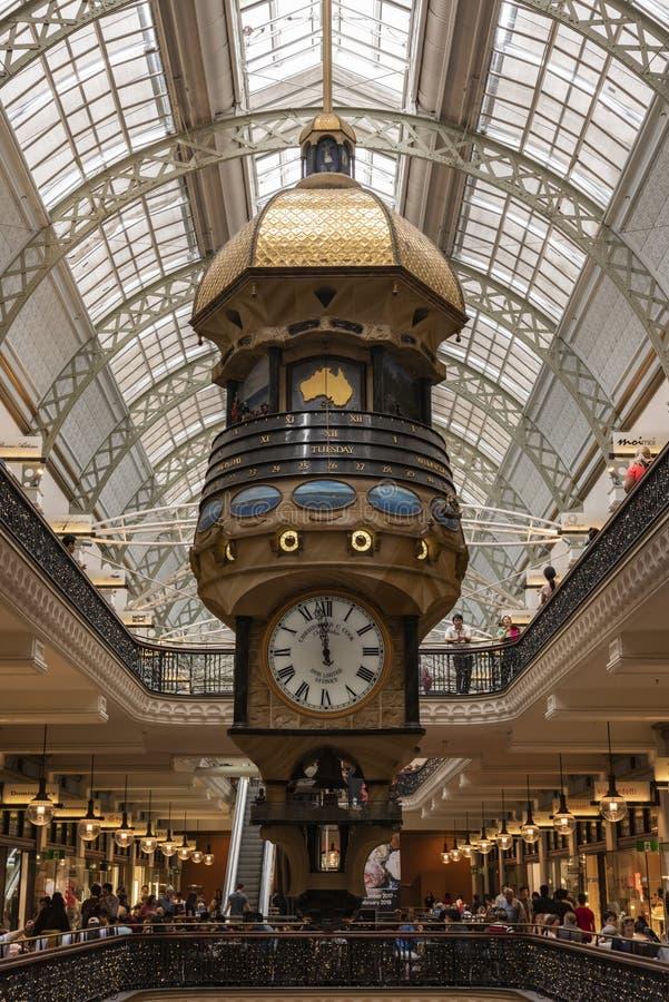 女王利物浦大学维多利亚大厦,中央时钟 cbd?? 免版税库存图片