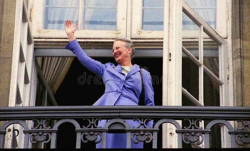 女王玛格丽特二世嗯BIRTHDAY_prince admited医院 免版税库存照片