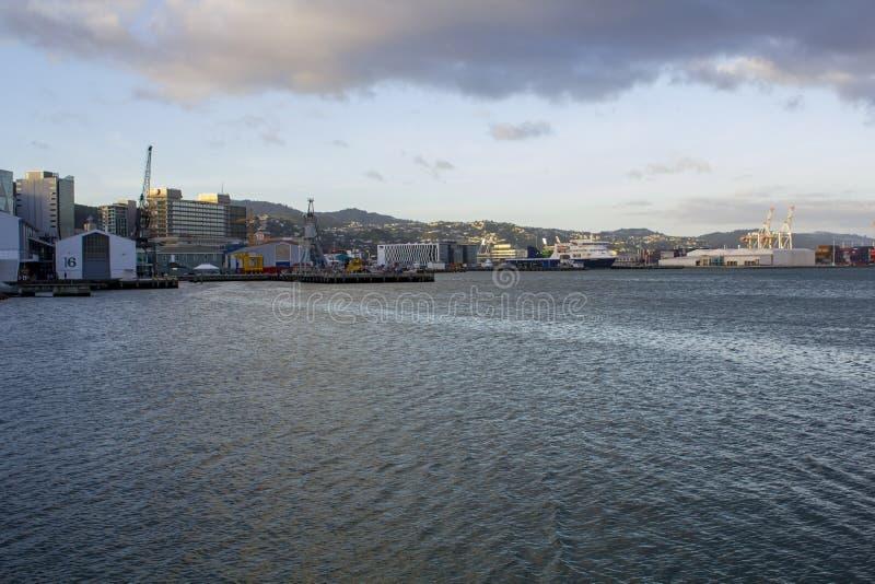 女王码头,奥克兰在新西兰 库存照片