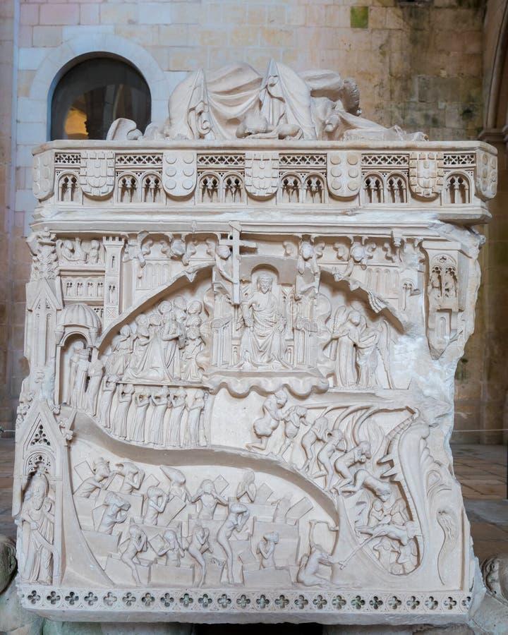 女王英尼斯的坟茔 库存图片