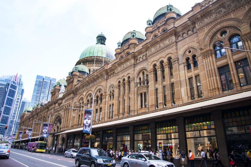 女王维多利亚大厦在悉尼 库存图片