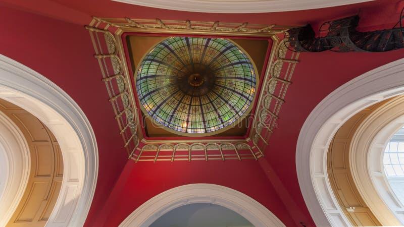 女王维多利亚大厦在悉尼 免版税库存图片