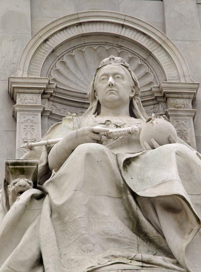 女王/王后雕象维多利亚 库存图片