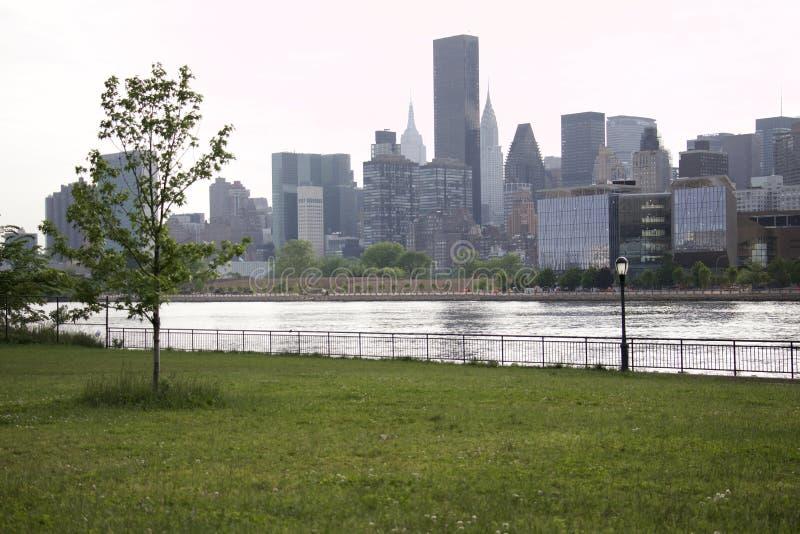 女王/王后-纽约-曼哈顿看法  免版税库存照片