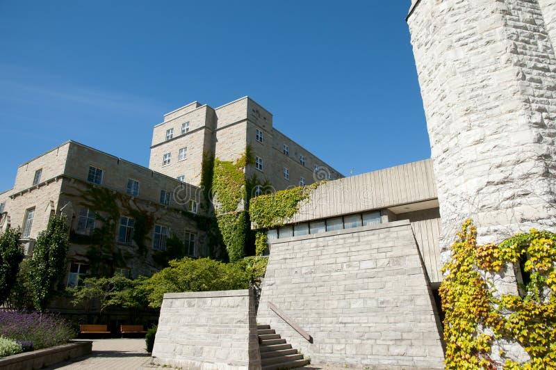 女王/王后` s大学-金斯敦-加拿大 免版税库存照片